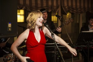 Sydney singer Kirsten Allison and her band